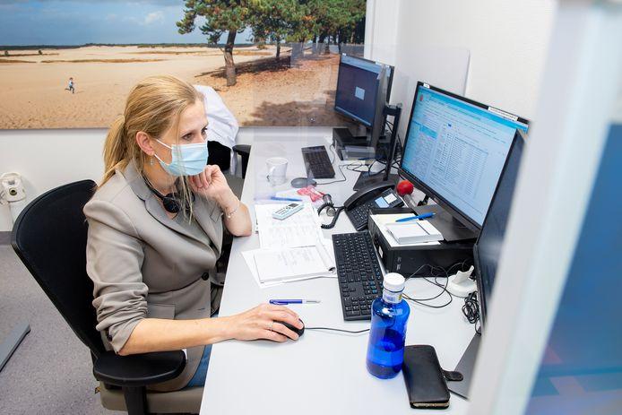 Anne-Claire van de Wiel, transferverpleegkundige op de eerste hulp van het ETZ in Tilburg