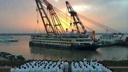 Dodental scheepsramp China opgelopen tot 396
