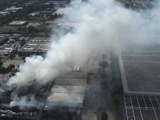 Heftige nacht voor brandweer, maar na elf uur is overlast voorbij in Tilburg: zo werd de brand bestreden