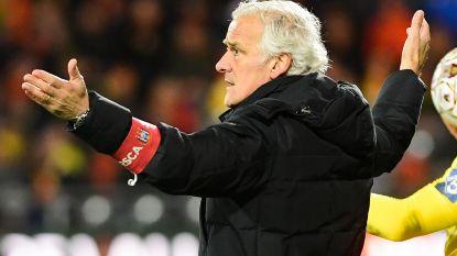 Het (korte) parcours van Rutten bij Anderlecht: meer nederlagen dan overwinningen