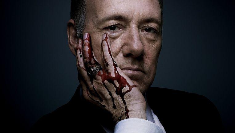 Frank Underwood uit de Netflixserie House of Cards. Beeld Netflix