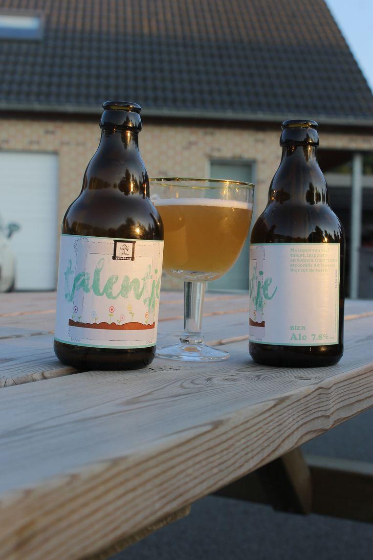 Het nieuwe bier Talentje.