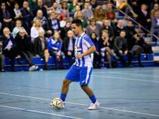 Zaalvoetballers FC Eindhoven met riante zege play-offs in