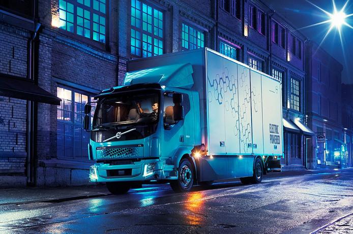 Volvo's elektrische truck is gebaseerd op het bestaande type FL.