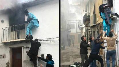 Illegale migrant krijgt verblijfsvergunning nadat hij gehandicapte man uit brandend gebouw redde