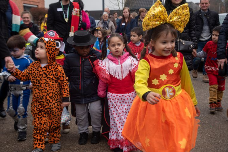Kindercarnaval in Wetteren.