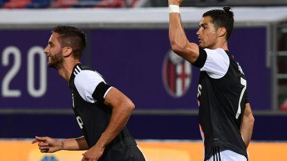 Ronaldo en Dybala helpen Juventus aan zege tegen Bologna, 'Oude Dame' zet Lazio op vier punten
