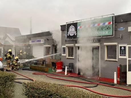 Brand in Egyptisch restaurant in Heeswijk-Dinther, ook naastliggende panden getroffen