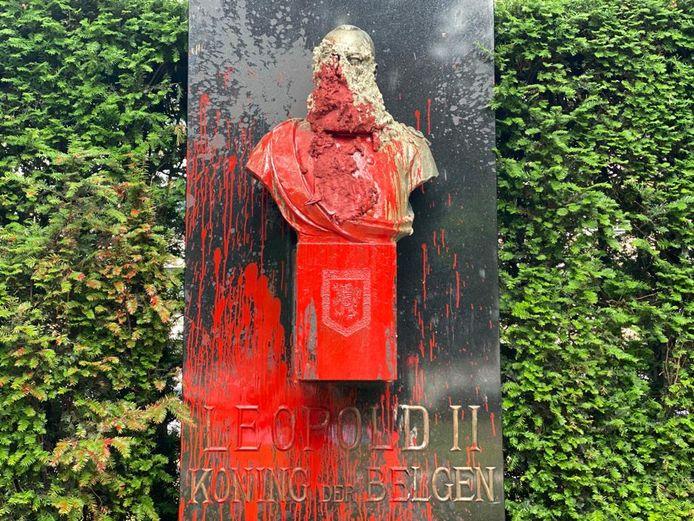 Plusieurs statues du roi Léopold II ont été vandalisées ces derniers jours.