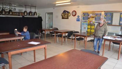 Hartencollege mag gebruik maken van kantine voetbalclub Osta Meerbeke voor opvang leerlingen, ook buurthuis en bibzaaltje ter beschikking