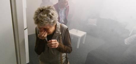 Ouderen leren uit brandend huis te vluchten bij Risk Factory in Enschede