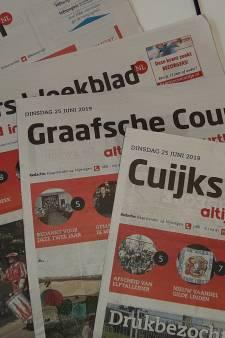 Weekbladen De Maasdriehoek en Via stoppen