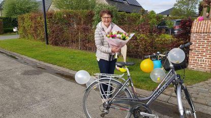Laatste fietstocht naar het werk na 42 jaar trouwe dienst