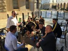 Spelers en sponsors NAC brengen samen middag door in het centrum van Cartagena