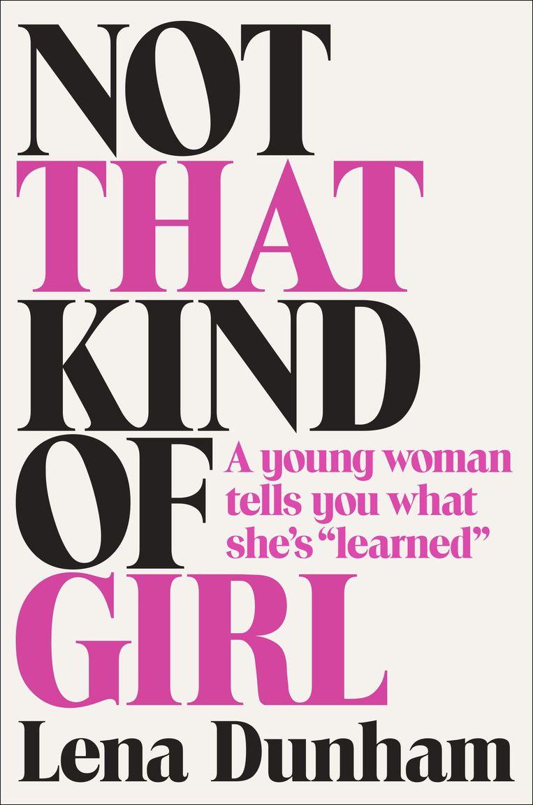 De cover van Not That Kind Of Girl. Beeld ap