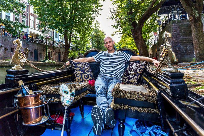 Arjen Heida zet zijn gondels weer te koop.