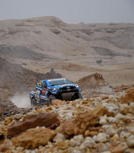 Van Loon geeft op in Dakar Rally wegens technische problemen