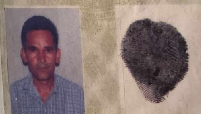 Foto van de dader die in het ziekenhuis van Janaúba aan zijn verwondingen stierf.