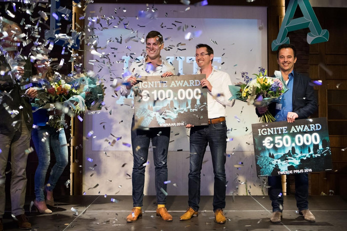 Winnaars IGNITE Award.