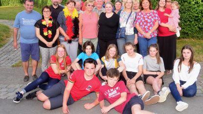 Buren Kleistraat bouwen feestje
