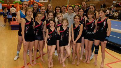 Diabetespatiënte Niena turnt met andere gymnasten voor de Diabetesliga