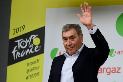 Eddy Merckx opgenomen in ziekenhuis van Dendermonde na val tijdens fietstocht