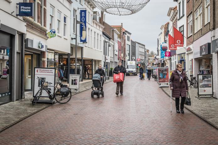 Er tekent zich in Goes een meerderheid af voor het vaker openstellen van winkels op zondag.