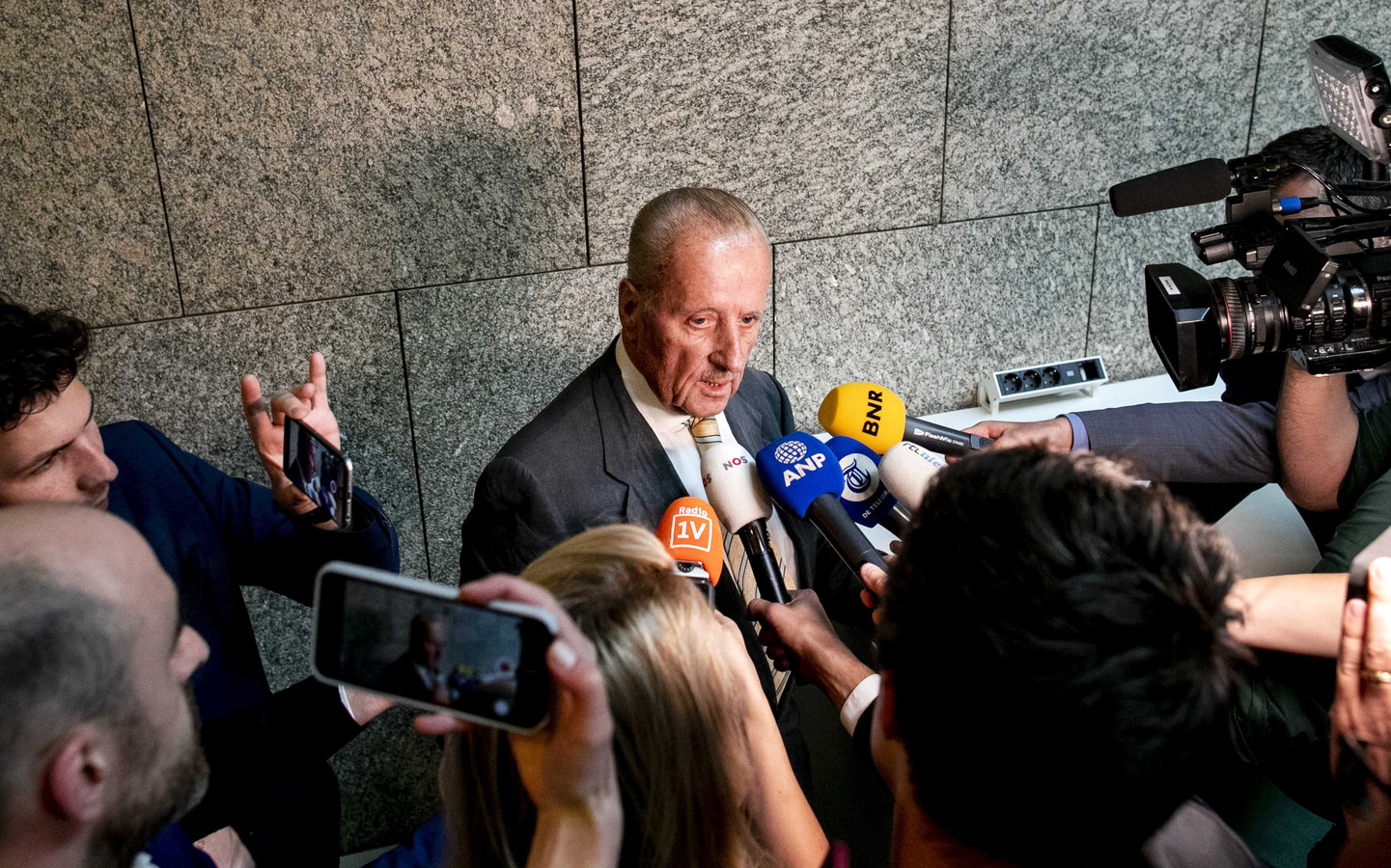 Theo Hiddema (FvD) in de Tweede Kamer.