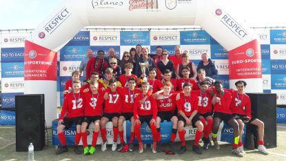 U17 KFCE Zele winnen in Spanje