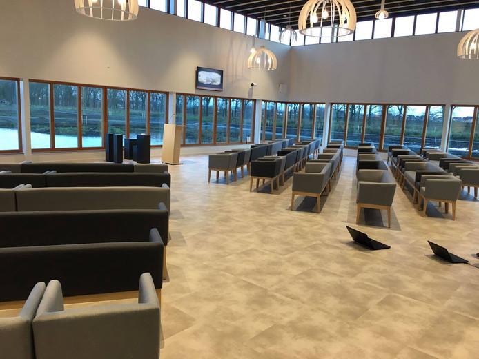 Het crematorium van Respectrum in Eelderwolde