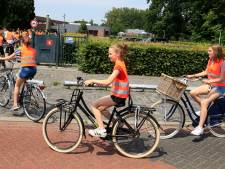 Hoe fiets je veilig naar de brugklas? Deze achtstegroepers oefenen alvast