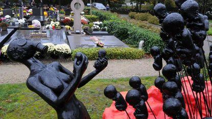 Reizend kunstwerk symboliseert oorlogsgruwel