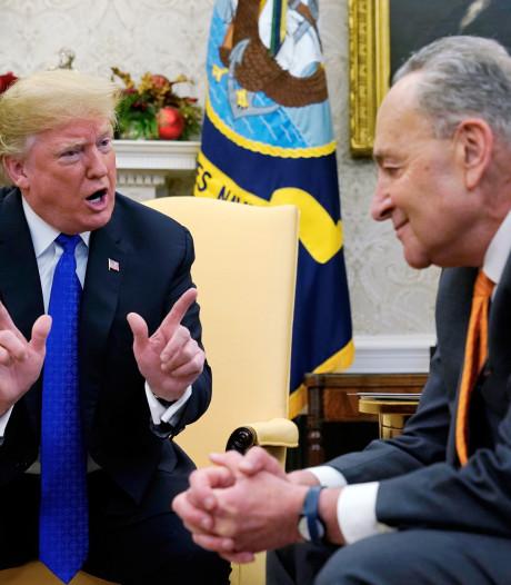 Trump: Ik leg de overheid plat als er geen geld komt voor de grensmuur