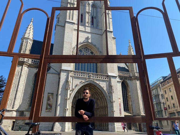 Lucas Selfslagh: 'Een technofeest in de Sint-Baafskathedraal, met een livestream in het spel, zou de max zijn' Beeld