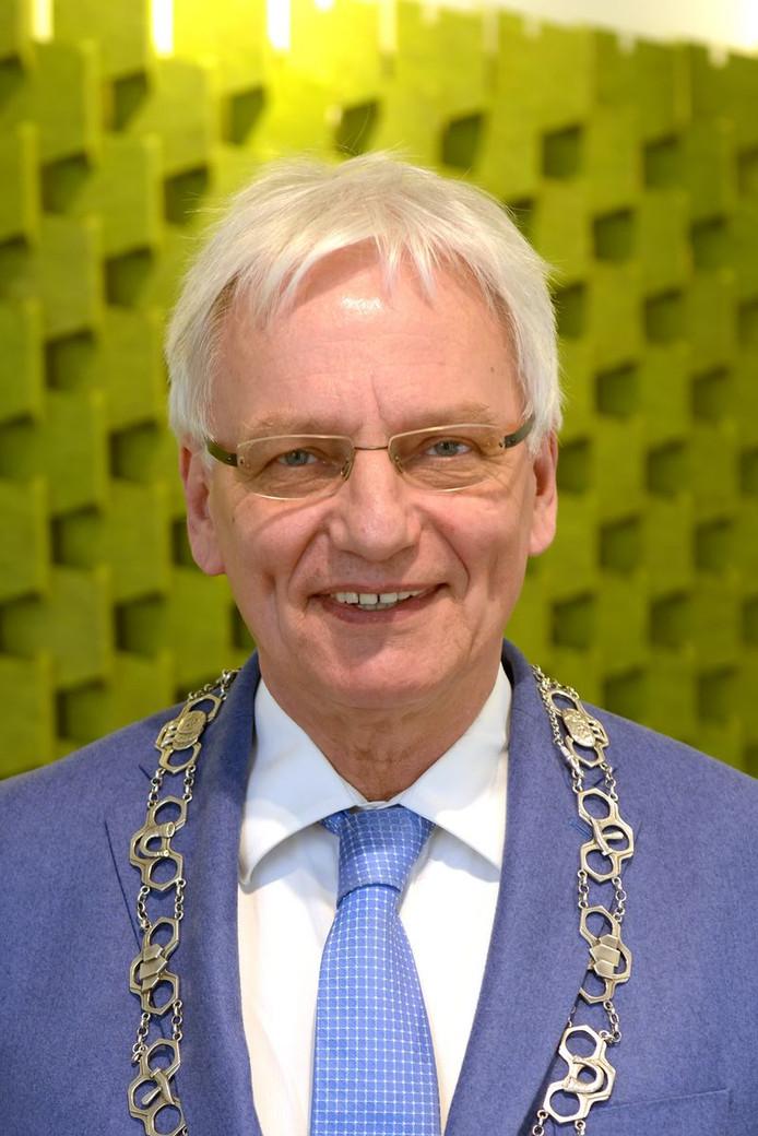 Burgemeester Wim Luijendijk.