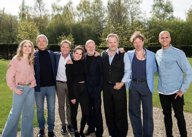 Liefde voor Muziek 2019: Ilse DeLange, Jan Leyers, Bart Kaell, Laura Tesoro, Kommil Foo, Stef Kamil Carlens en Milow.