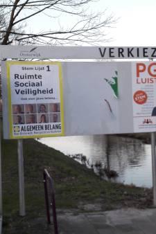 Verkiezingsvandalisme in Moergestel: PrO is het slachtoffer