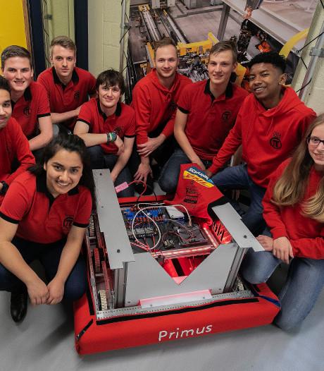 Leerlingen Heerbeeck in Best doen mee aan WK Robotics