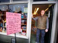 Horeca en winkels roepen klanten op afstand te houden