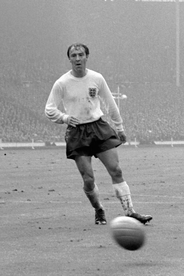 Jimmy Greaves in 1965 in het Engelse nationale elftal.