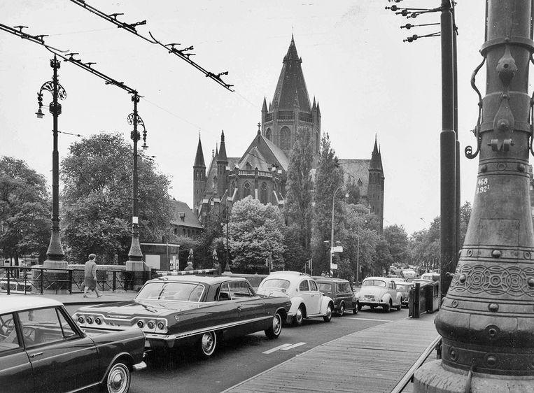 Sint-Willibrordus buiten de Veste, 1967. Beeld Stadsarchief
