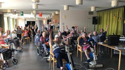 Bewoners Ter Linde op verkenning in eigen streek met virtuele fietstochten