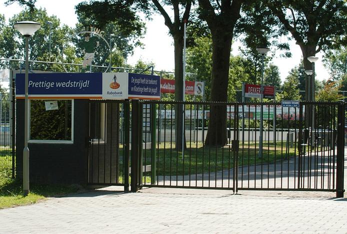Het Wesselopark, thuishaven van VV Kloetinge.