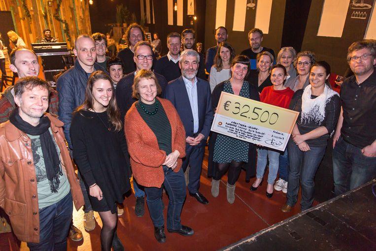 De 13 projecten krijgen samen voor 32.500 euro steun.