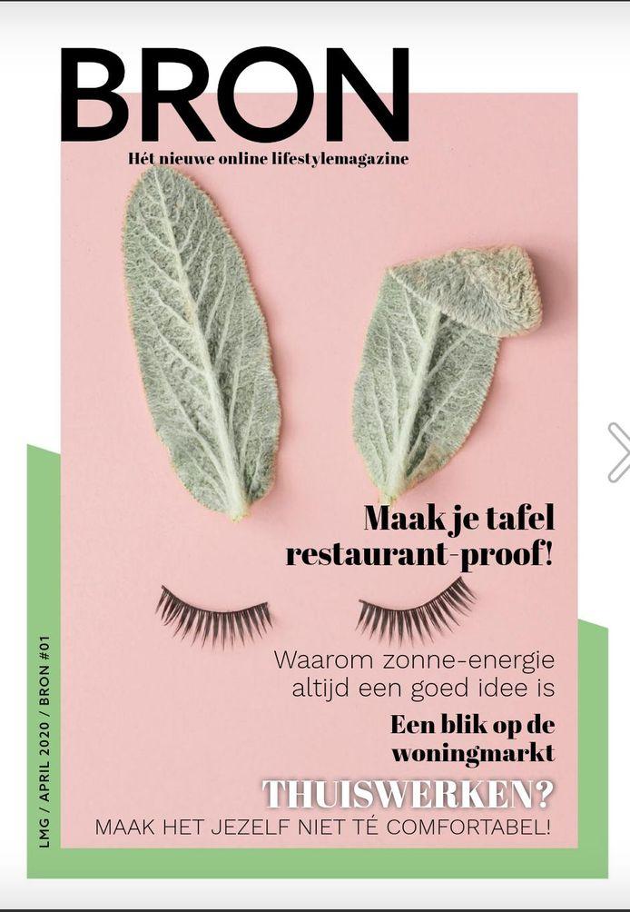 BRON is een nieuw magazine dat reclamebureau LMG uit Goes vanwege de coronacrisis gratis online verstrekt.