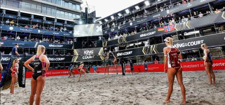Twee positieve tests bij King of the Court beachvolleybal in Utrecht