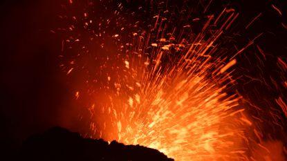 Etna spuwt opnieuw lava