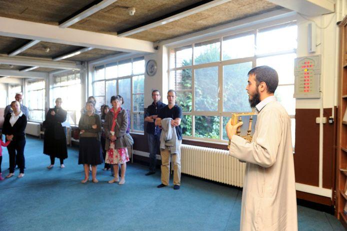 Open moskeeëndag in Leuven