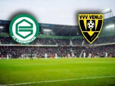 FC Groningen en VVV sluiten eredivisiezaterdag af