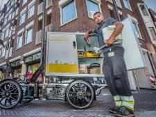 Bakfietsen vervangen vieze busjes: 'Ik fiets nu lachend de file voorbij'